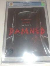BATMAN DAMNED #1 CVR A CGC 10 GEM MINT & 1 raw copy to read.