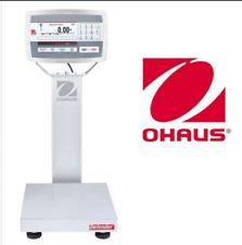 Ohaus D52XW50WQL7 Defender 5000 Washdown Bench Scale, 100 x 0.005 lbs