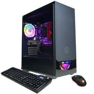 CYBERPOWERPC Gaming Desktop AMD Ryzen 7-3700X 16GB 1TB HDD 500GB SSD RX 6700 XT