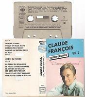 CLAUDE FRANCOIS cassette K7 tape VERSIONS ORIGINALES vol 2 donna donna COMET