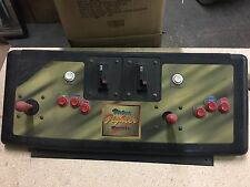 Virtua Fighter Remix Arcade Video Game Control Panel Buttons Harness