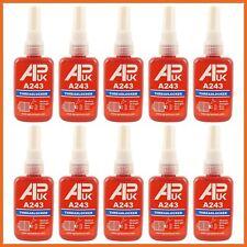10 x 50ml Medium Strength Threadlocker Adhesive Glue Thread A 243 like loctite