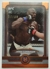 2019 Topps UFC Museum 57/159 Jared Cannonier Parallel Card