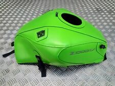 Kawasaki Z1000SX (2011-2019) Bagster Green Leather Tank Cover