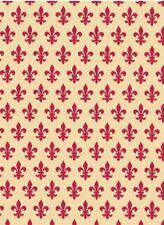 Klebefolie Lilien Möbelfolie French Lily rot Dekorfolie selbstklebend 45x200 cm