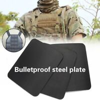 IIIA Steel Plate Safety Gear Armor Military Police Stand Alone Bulletproof Panel
