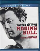 NEW  BluRAY + DVD  // RAGING BULL - ROBERT DeNIRO - MARTIN SCORSESE - 2DISC SET