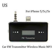 3.5mm Wireless Car FM Transmitter Modulator Charger Handsfree for iPhone 5 MP3