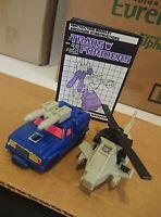 Transformers G1 Battletrap 1987 Hasbro Action Figure Robot w/ Manual