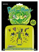 Rick And Morty 20 Magnet Set Weaponize The Pickle Rick Brand New Official
