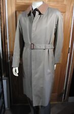 SANYO Trench Coat 42R Removable Wool Warmer Japanese Made Top of the Line