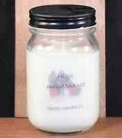 IScape Handmade Scented *High Maintenance* 11 Oz. Jar Soy Candle