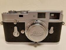 Leica m2 with Leitz Elmar lens. Camera and lens just CLA'D!!!