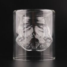 150ml Stormtrooper Glass Double Wall Crystal Shot Cup Bar Drink Whiskey Wine Mug