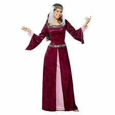 Maid Marion Costume Tales of Old England Fancy Dress UK Size 24 26