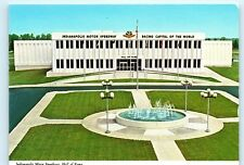 Indianapolis Indiana Motor Speedway Hall of Fame Vintage 4x6 Postcard A52