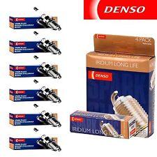 6pc DENSO 3441 / SXU22HDR8 Spark Plugs Denso Iridium Power Long Life