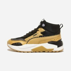Puma X-Ray 2 Square Mid Winter Brown All Size Authentic Men's Shoes - 37302002