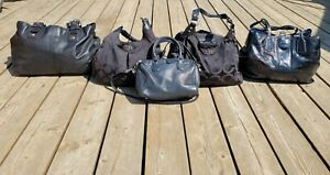 LOT 5 COACH SHOULDER BAG'S MADISON/MAGGIE OP/STITCHED/SOHO/GALLERY TOTE LEATHER