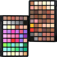 54 Colors Cosmetic Powder Eyeshadow Palette Makeup Natural Shimmer Matt Set Gift