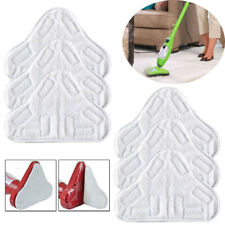 6x Washable Microfibre Floor Mop Pads Replacement for H20 X5 Steam Cleaner Wipes