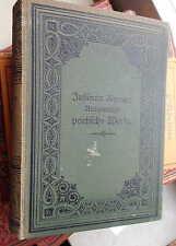 Justinus Kerners Ausgewählte poetische Werke 1-2, Cotta 1878-79 gebunden Lyrik