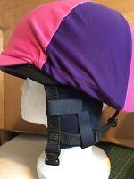 Horse riding hat Fleece ear warmers muffs attachable with Sherpa fleece
