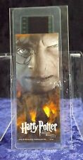 Harry Potter & The Deathly Hallows 2 Film Cell Bookmark Nerd Block Exclusive COA