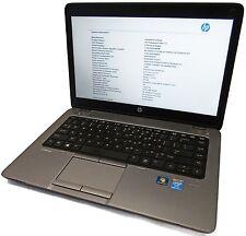 """HP EliteBook 840 G1 14"""" Core i5-4300U 1.9GHz 4GB No OS/HDD/Batt/Charger COS DMG"""
