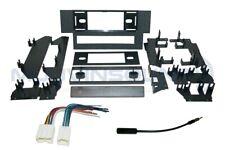 Radio Stereo Installation Dash Kit Combo Single DIN + Harness + Antenna NI84