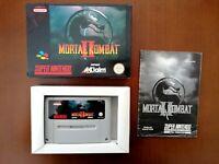 Mortal Kombat 2 II SNES PAL (SNSP-28-EUR) - Complete in Box