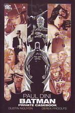 Batman Private Casebook hardcover Paul Dini Detective Comics DC