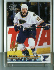 TONY TWIST 98-99 PACIFIC PARAMOUNT HOLO-ELECTRIC PARALLEL SP/99 #208 BLUES RARE