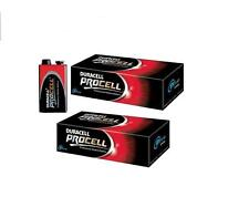 20 DURACELL PROCELL 9V BATTERIES  ALKALINE PP3 PP3  BATTERY EXP 2018 OR AFTER