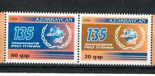 EMBLEMI - EMBLEM  AZERBAIJAN 2009 U.P.U. 135th Anniversary set