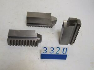 3  chuck jaws for lathe(3320)