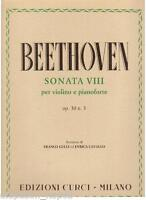 Beethoven: Sonata Für Violine E Klavier N.8 Op.30 N.3 - Curci