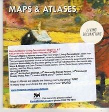 (BR77) Maps & Atlases, Living Decoration - DJ CD