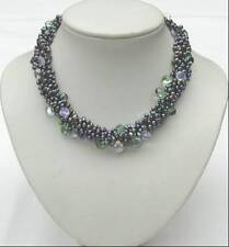 Freshwater  pearl necklace with 925 sterling silver