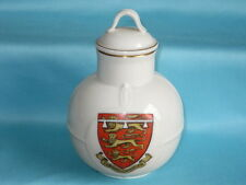 Goss China Welsh Milk Can - EDWARD OF CARNARVON crest