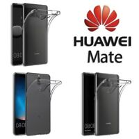 Custodia Cover Case Ultra Slim Silicone Trasparente per Huawei Mate 10 Pro Lite