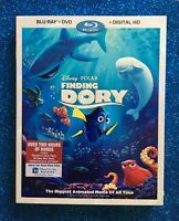 Finding Dory (Blu-ray+DVD+Digital, 2016) NEW w/ Slipcover; Disney-Pixar