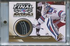 14-15 SP Game Used Stanley Cup Finals Puck Henrik Lundqvist SSP 1: 208 boxes