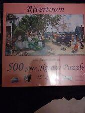 Rivertown a 500-Piece Jigsaw Puzzle by Sunsout Inc.