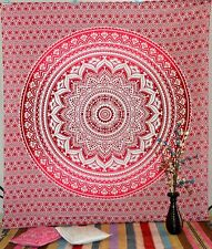 Indian Queen Ombre Mandala Tapestry Hippie Wall Hanging Bedspread Blanket