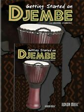 Getting Started On Djembe Hand Drums Learn to Play Percussion MUSIC BOOK & DVD