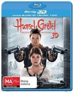 Hansel & Gretel - Witch Hunters (Blu-ray, 2013, 3-Disc Set)