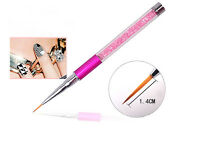 Nail Art Tips UV Gel Crystal Acrylic Painting Drawing Pen Polish Brush Pen lsy