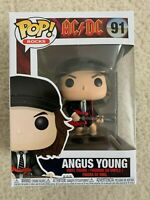Funko Pop! AC/DC Angus Young Vinyl Bobble Toy Figure #91 -- Damaged Box