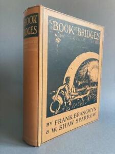 Book of Bridges, Frank Brangwyn, colour plates, 1915